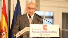 Juan Caño, presidente de la Asociación de la Prensa de Madrid