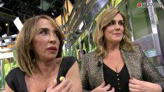 María Patiño y Carlota Corredera en 'Sálvame'
