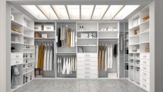 Los vestidores se pueden organizar para tenerlos siempre perfectos
