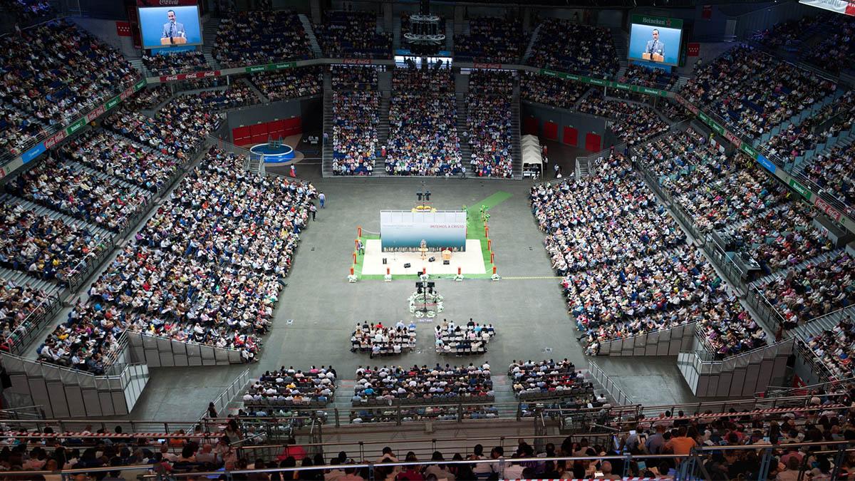 Reunión de Testigos de Jehová en Palma, donde se concentraron más de 3.000 fieles. (Ep)