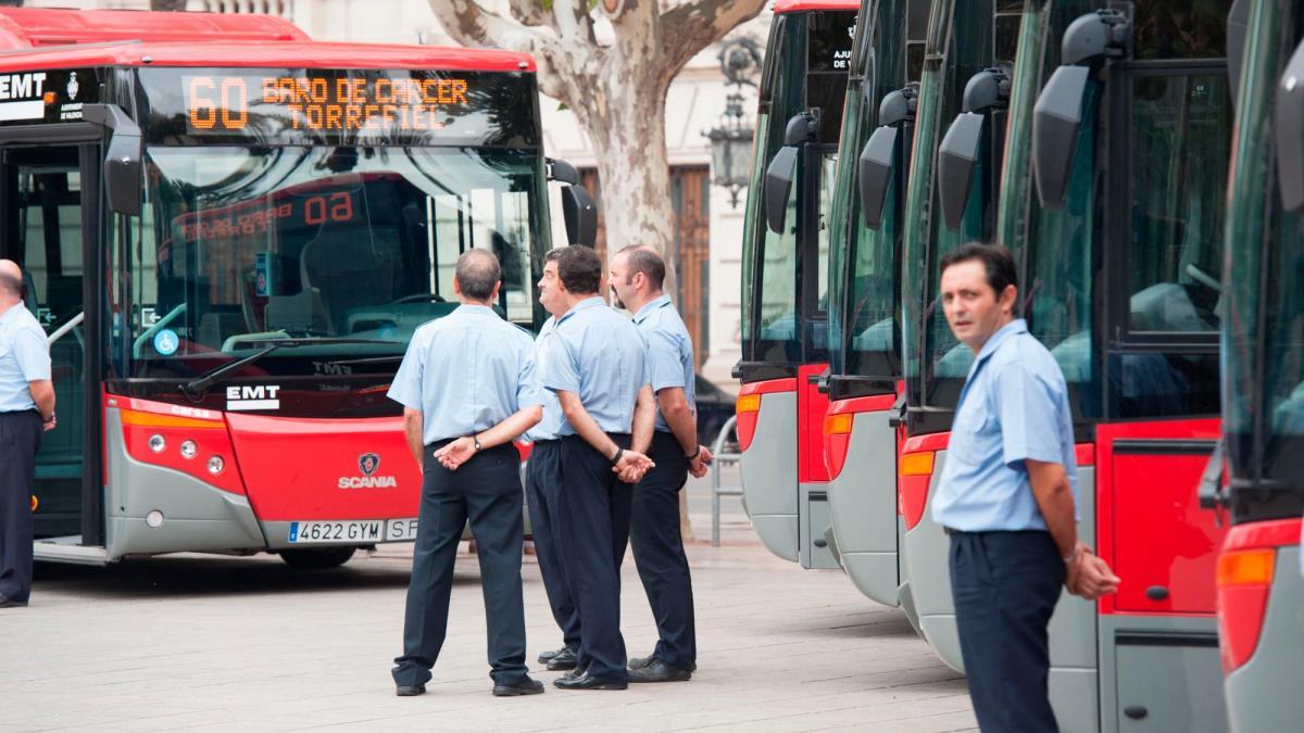 Bonofallas para metro y bus en Valencia