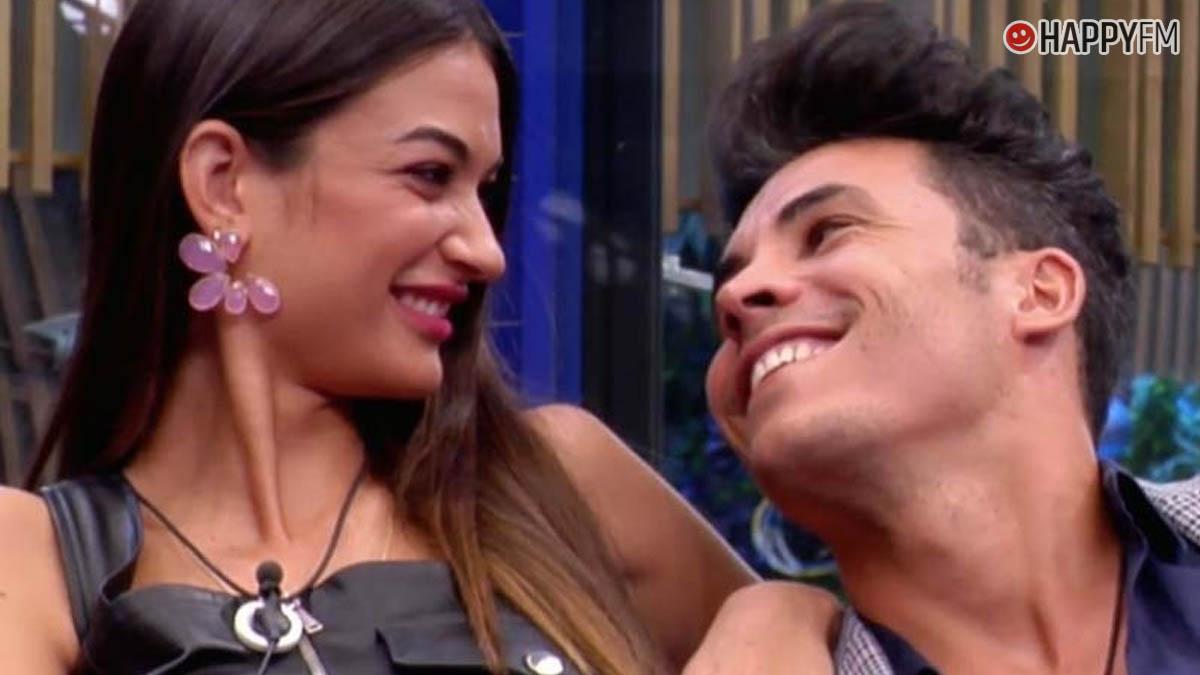 Estela Grande y Kiko Jiménez