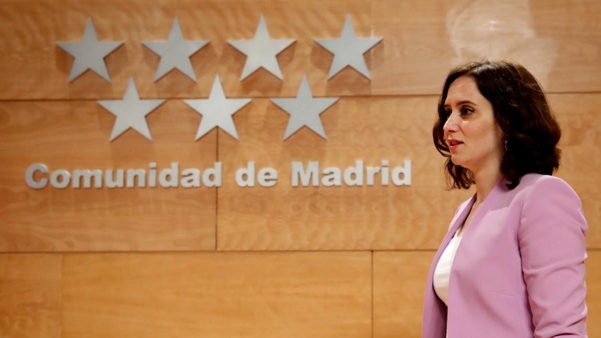 La presidenta de la Comunidad de Madrid, Isabel Díaz Ayuso (Foto: EFE).