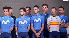 El Movistar Team anuncia el cese de su actividad durante un tiempo. (AFP)