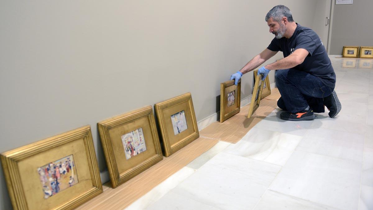 Obras de Sorolla que integrarán la exposición 'Cazando impresiones' en Fundación Bancaja. Foto: EP