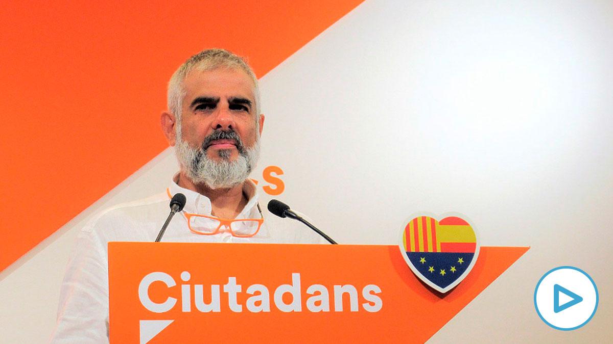 Carlos Carrizosa, candidato de Ciudadanos a la Generalitat. (Foto: Europa Press)