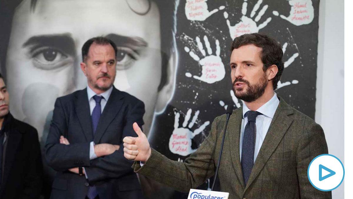 Pablo Casado y Carlos Iturgaiz.