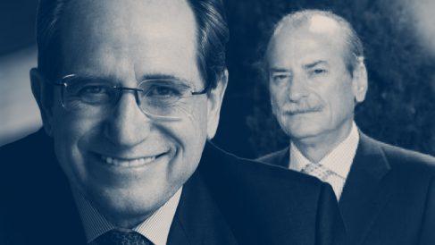 El presidente de GED Capital, Enrique Centelles, y el ex presidente del INI Javier Salas Collantes.