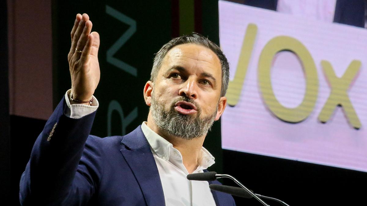 Santiago Abascal, líder de Vox