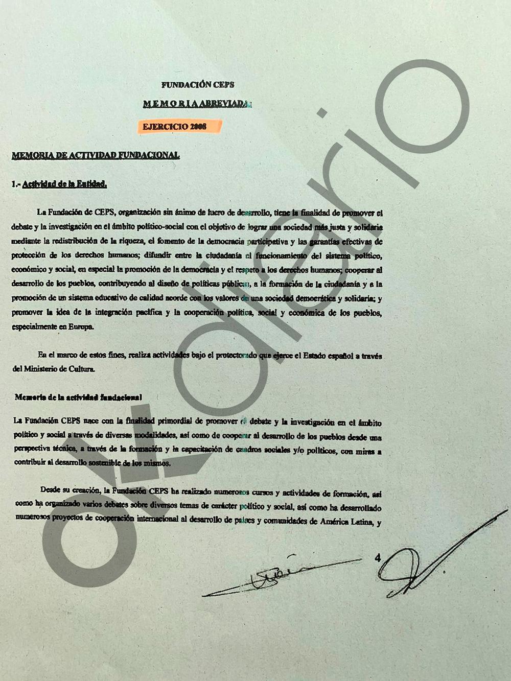 Delcy Rodríguez ordenó el pago de 1,8 millones a título personal a Pablo Iglesias y sus 8 compinches