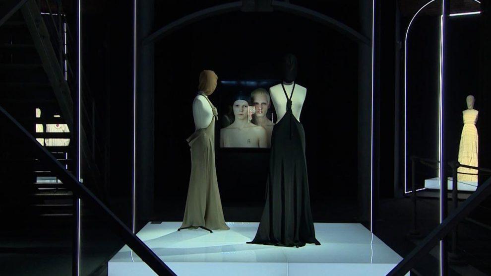 Exposicíon David Delfín, en la sala Canal de Isabel II, en Madrid. Foto: EP