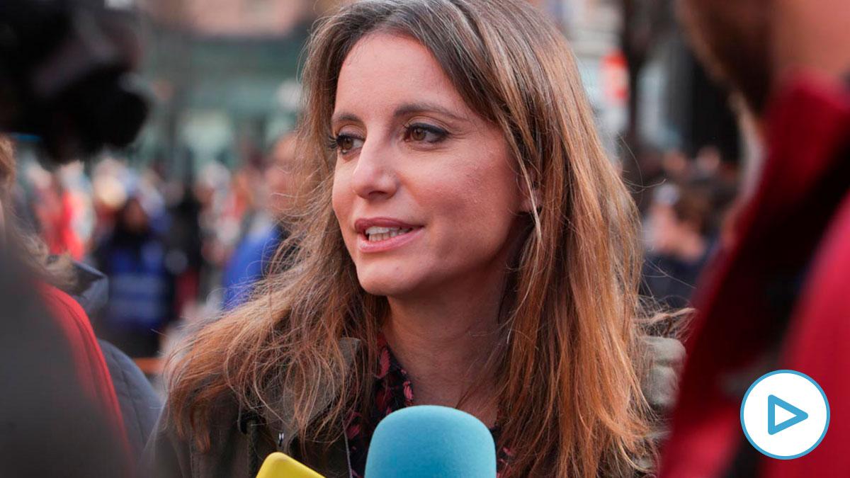 Andrea Levy, concejal de Cultura, Turismo y Deporte de Madrid. Foto: EP