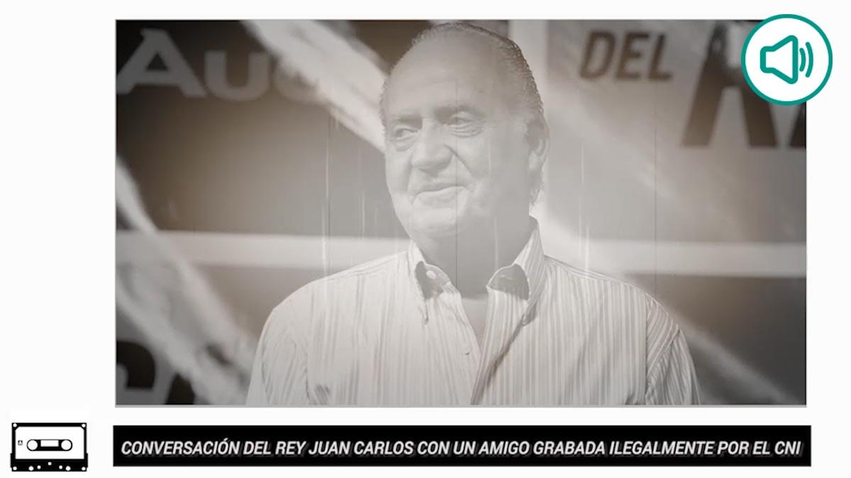 La grabación del CESID a Juan Carlos I sobre Marta Gayá.