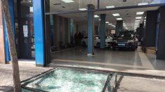 Alunizaje para robar coches de lujo en un concesionario de Madrid