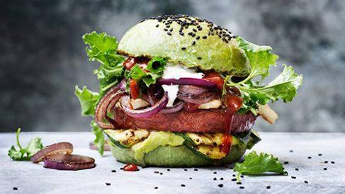 ¿Se puede llamar realmente «hamburgesa» a una que es vegana?