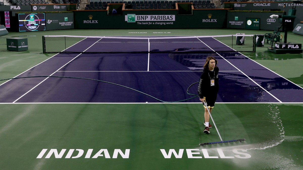 El Masters 1.000 de Indian Wells queda cancelado por el coronavirus. (Getty)