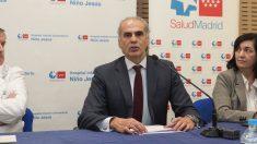 El consejero de Sanidad, Enrique Ruiz Escudero. (Foto: Comunidad)