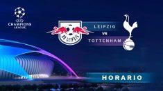 Champions League: Leipzig – Tottenham   Horario del partido de fútbol de Champions League.