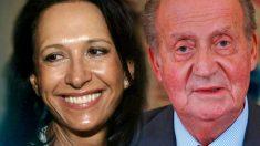 Marta Gayá y Juan Carlos I.