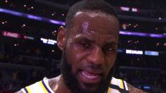 Lebron James y Anthony Davis aplastan a Los Clippers en el duelo de Los Angeles