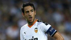 Parejo, en un partido de Champions con el Valencia (Getty).