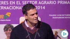 Pedro Sánchez en 2014: «Voya pedir una y mil veces la comparecencia del señor Rajoy en el Congreso para que rinda cuentas por la crisis del ébola».