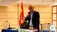 Jorge Bouxadé, cabeza de lista de Vox al Parlamento europeo. (Foto: @Jorgebouxade)