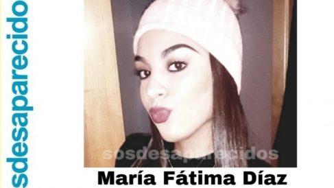 María Fátima Díaz sigue desaparecida