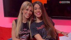 Oriana y Violeta