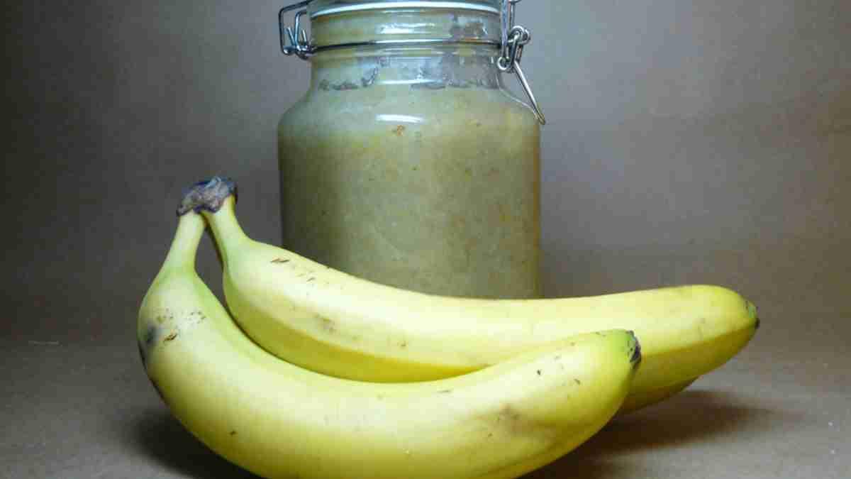 Receta de mermelada de plátano casera