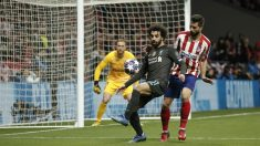 Salah y Felipe, en el partido de ida. (Getty)