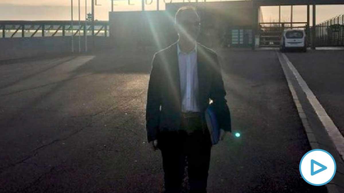 Jordi Turull sale de la cárcel para trabajar en el despacho de abogados Badia de Terrassa