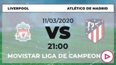 Champions League: Liverpool – Atlético | Horario del partido de fútbol de Champions League.