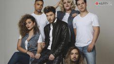 Blas Cantó y su equipo para Eurovisión
