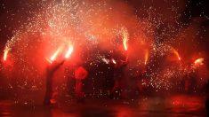 El fuego es el elemento protagonista en las Fallas