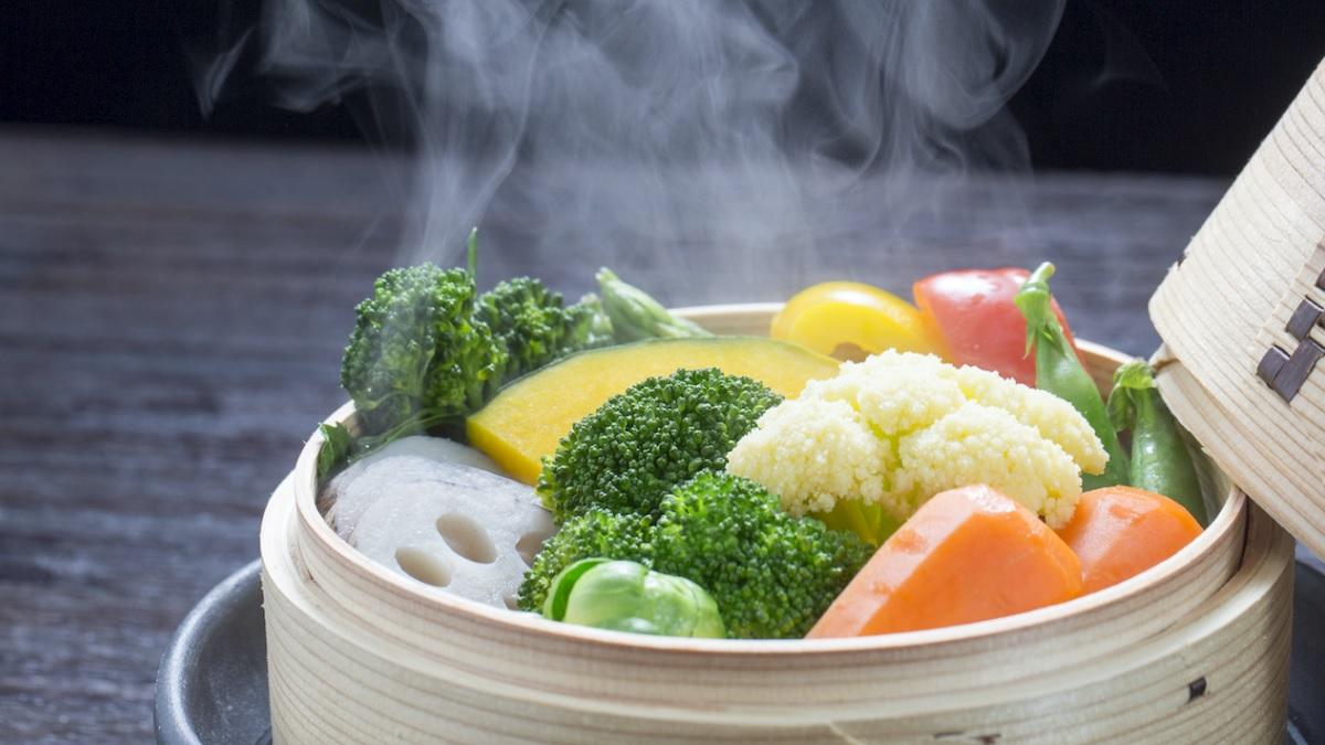 La cocina al vapor es uno de los mejores métodos para comer saludable