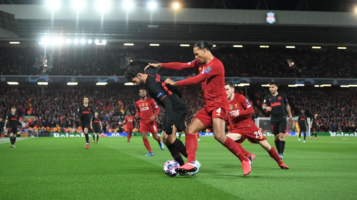 Liverpool – Atlético de Madrid. (AFP)