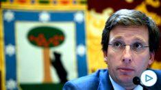 El alcalde de Madrid, José Luis Martínez-Almeida. Foto: EP