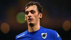 Manolo Gabbiadini, durante un partido. (AFP)