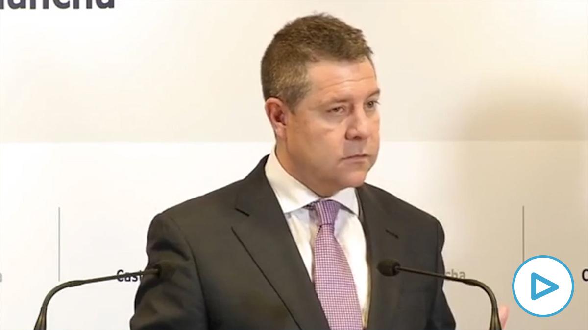 Emiliano García-Page, presidente de la Junta de Castilla-La Mancha