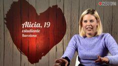Alicia en 'First Dates'