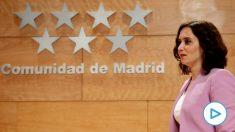 La presidenta de la Comunidad de Madrid, Isabel Díaz Ayuso. Foto: EFE