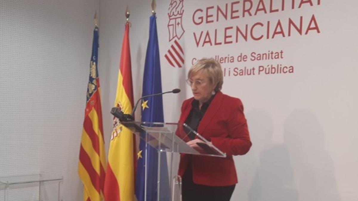 La consejera de Sanidad Universal de la Generalitat de Valencia, Ana Barceló. Foto: EP