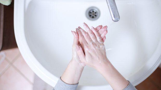 Lavarse las manos en el coronavirus