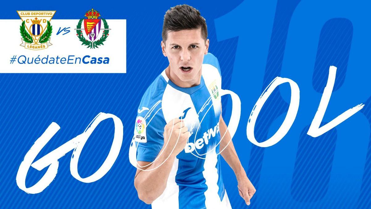 El Leganés hizo un directo ficticio del partido que hubiera jugado ante el Valladolid si no llega a ser por el coronavirus.