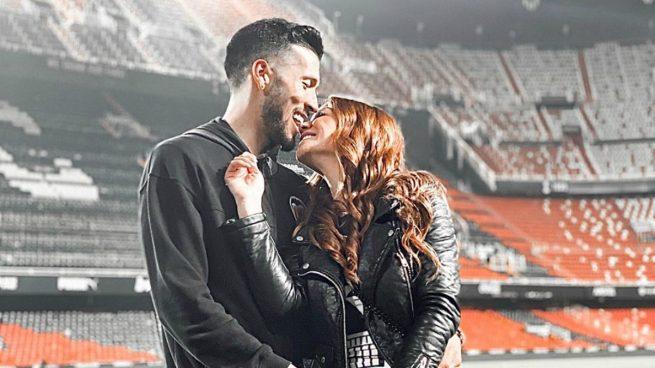 Tamara Gorro y Garay, en Mestalla.