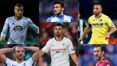 Rafinha, Soldado, Óscar, Nolito, Cazorla o Diego López terminan su vinculación con sus actuales equipos el 30 de junio.