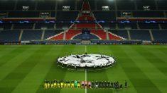 El Parque de los Príncipes sin público en el PSG-Borussia. (Getty)