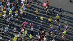 Imagen de archivo de la maratón de Barcelona. (AFP)