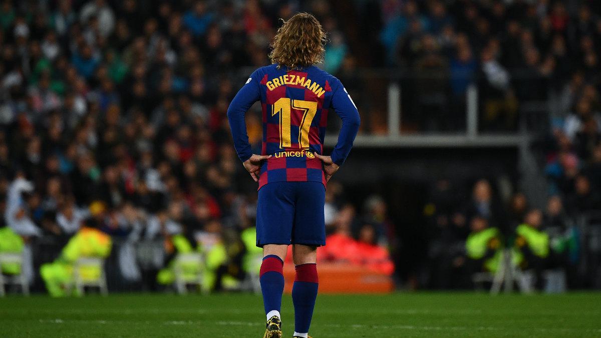 Antoine Griezmann con el Barcelona. (AFP)
